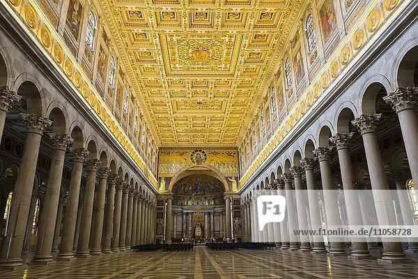 Kirche San Paolo Fuori le Mura  Rom  Latium  Italien  Europa