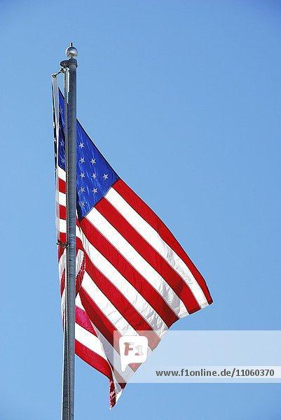 Amerikanische Flagge  USA  Nordamerika