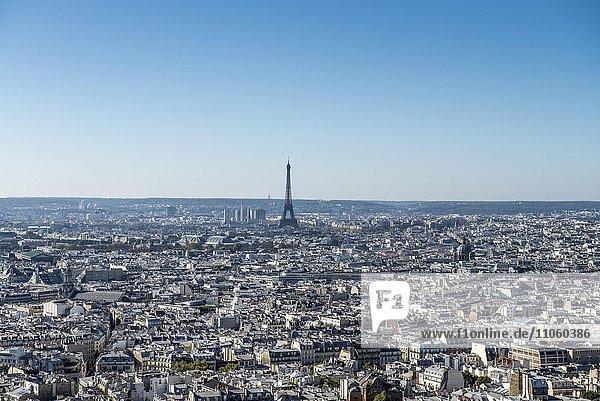 Eifelturm  Paris  Frankreich  Europa