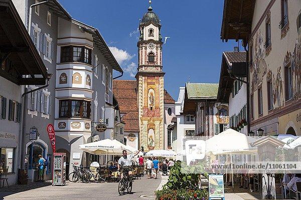 Mittenwald  Oberbayern  Bayern  Deutschland  Europa