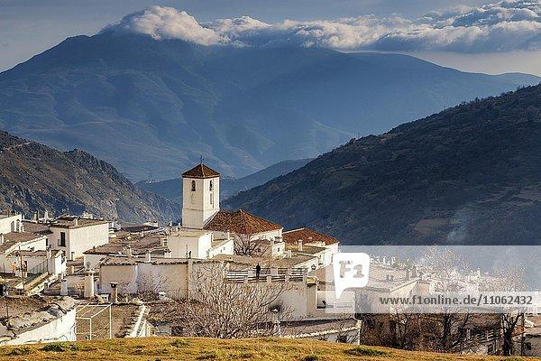 Capileira  La Alpujarra  Alpujarras  Granada region  Andalusia  Spain  Europe