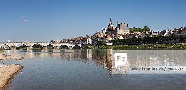 Gien an der Loire  Département Loiret  Region Centre-Val de Loire  Frankreich  Europa