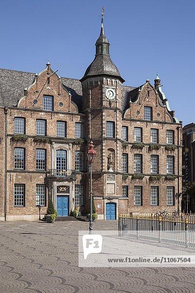Altes Rathaus  Marktplatz  Düsseldorf  Nordrhein-Westfalen  Deutschland  Europa