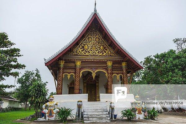 Buddhistischer Tempel Wat Wisunalat  Luang Prabang  Louangphabang  Laos  Asien