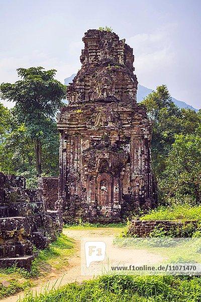 My Son  Cham Tempel  Ruinen  Duy Xuyên District  Provinz Quang Nam  Vietnam  Asien