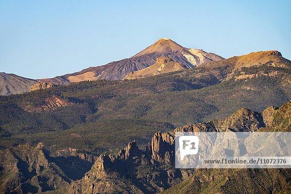 Vulkan Pico del Teide  Teneriffa  Kanarische Inseln  Spanien  Europa