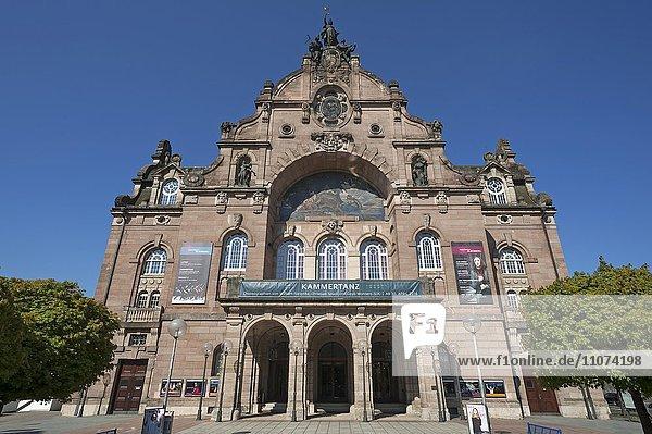 State Theater  Art Nouveau  Nuremberg  Middle Franconia  Bavaria  Germany  Europe