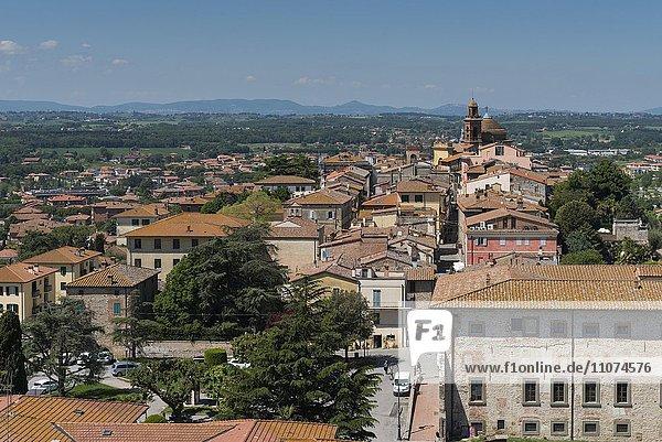 Altstadt  Castiglione del Lago  Umbrien  Italien  Europa