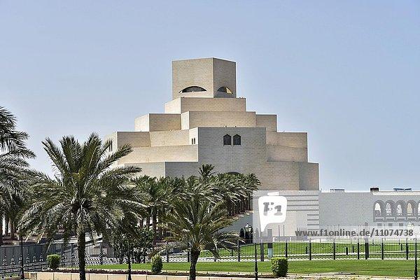 Museum für Islamische Kunst in Doha  Katar  Asien