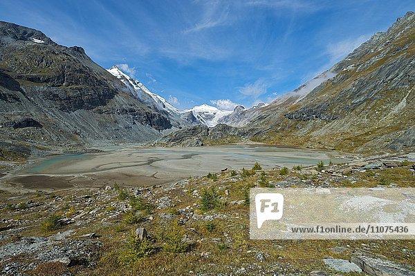 Großglockner mit Sandersee  Nationalpark Hohe Tauern  Kärnten  Österreich  Europa