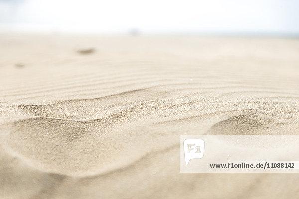 Feinsand am Strand
