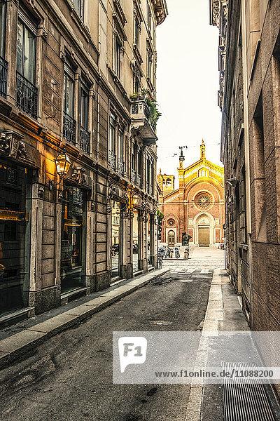 Italien  Mailand  Blick auf die Chiesa di San Marco