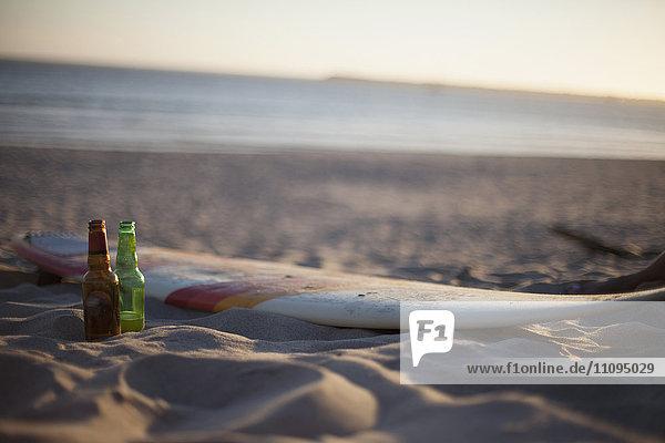 Abenddämmerung,Abwesenheit,Alkohol,Außenaufnahme,Bier,Bierflasche