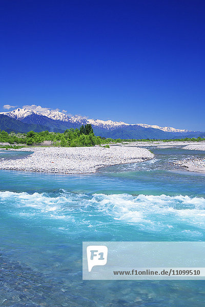 North Alps and Takase River