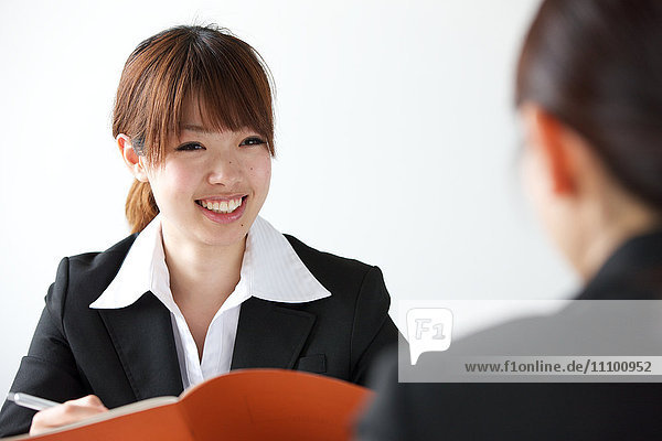 Young Businesswoman Having Meeting