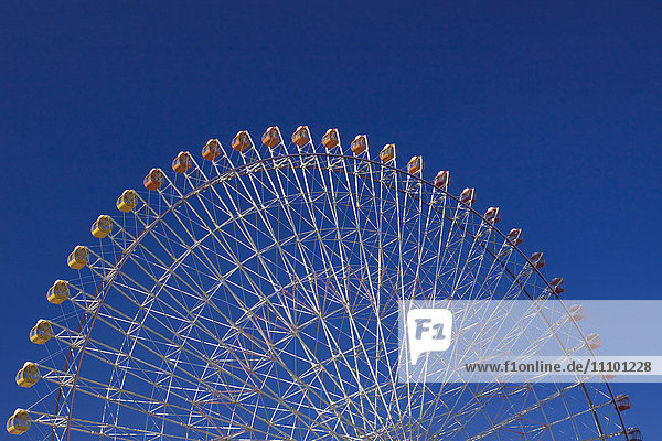 Ferris Wheel  Yokohama City  Kanagawa Prefecture  Honshu  Japan