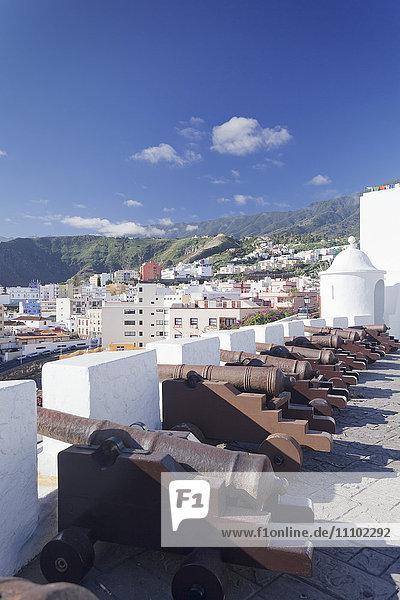 Castillo de la Virgen  Santa Cruz de la Palma  La Palma  Canary Islands  Spain  Europe