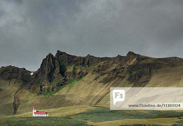 Church  Vik  Iceland  Polar Regions