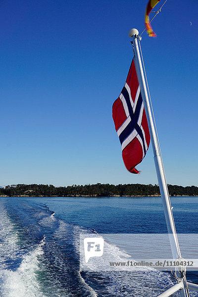 Fjord near Bergen  Hordaland  Norway  Scandinavia  Europe