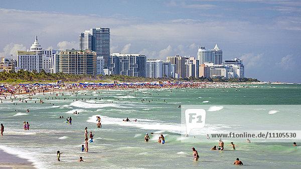 South Beach  Miami Beach  Gold Coast  Miami  Florida  United States of America  North America