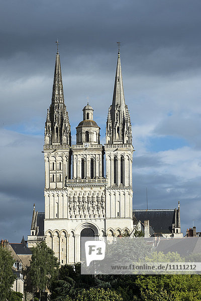 Europe  France  Maine et Loire  Angers  Saint Maurice cathedral