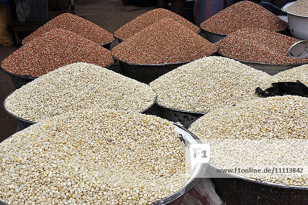 Benin  Djogou region  local market