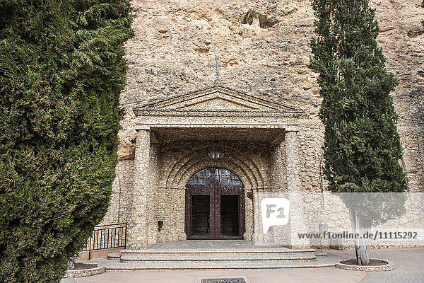 Spain  Murcia region  Calasparra  Virgen de la esperanza sanctuary