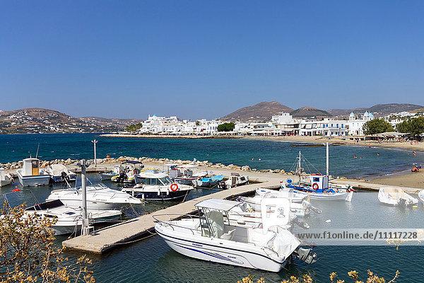 Greece  Cyclades  Paros Island  Parikia  the harbour