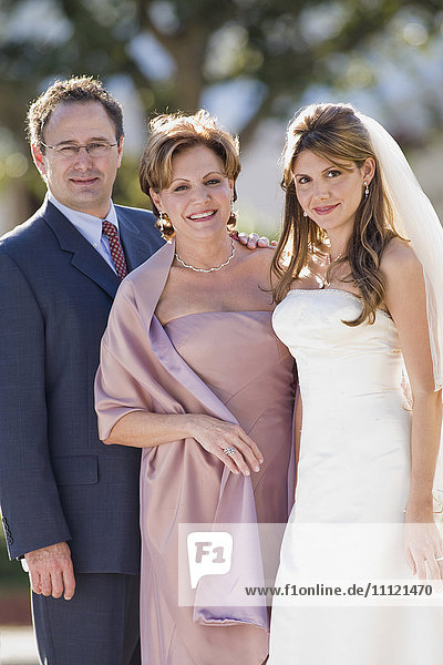 Cuban bride with multi-ethnic mother and father