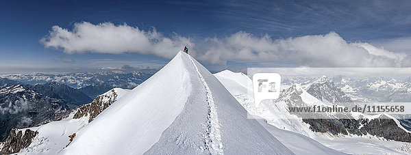 Italien  Gressoney  Alpen  Lyskam