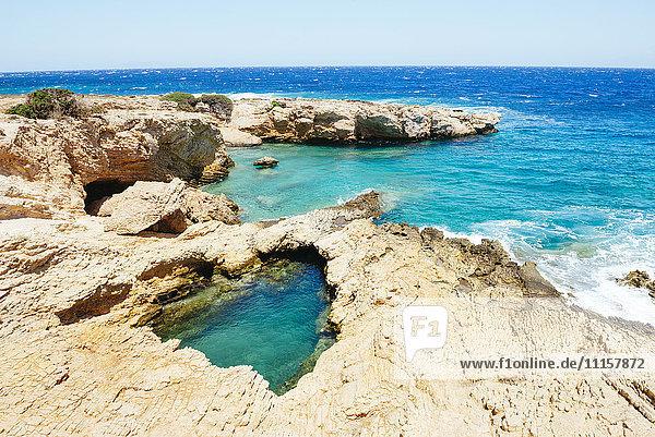 Griechenland  Koufonissi  Klares Wasser der Ägäis