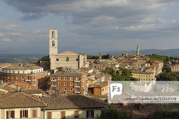 Italien  Umbrien  Perugia  Stadtbild