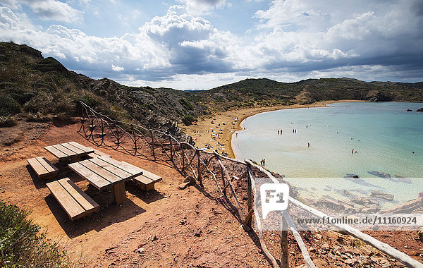 Spain  Balearic Islands  Caballeria beach