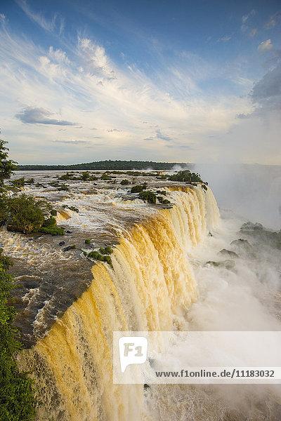 Iguacu Falls  Parana State  Brazil