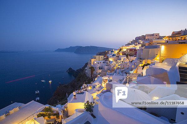Oia  Santorini (Thira)  Cyclades Islands  Greece