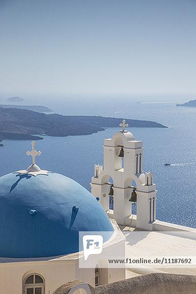 Firostefani  Fira  Santorini (Thira)  Cyclades Islands  Greece