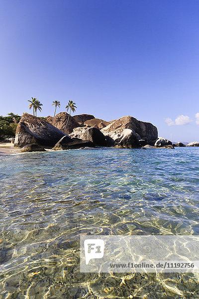 Caribbean  British Virgin Islands  Virgin Gorda  Spring Bay National Park / The Baths