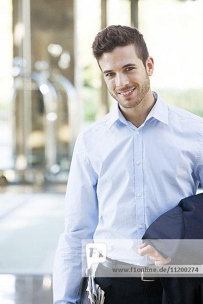 Geschäftsreisender  Portrait