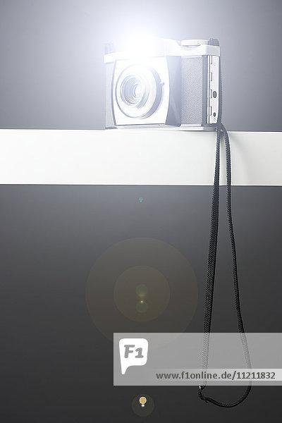 Vintage Camera Flashing