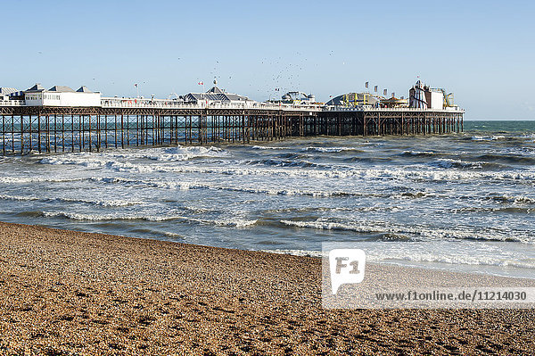 'Brighton Pier; Brighton  England'