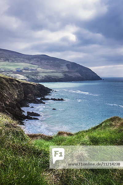 'Moody weather at Slea-Head in the Dingle Peninsula; County Kerry  Ireland'
