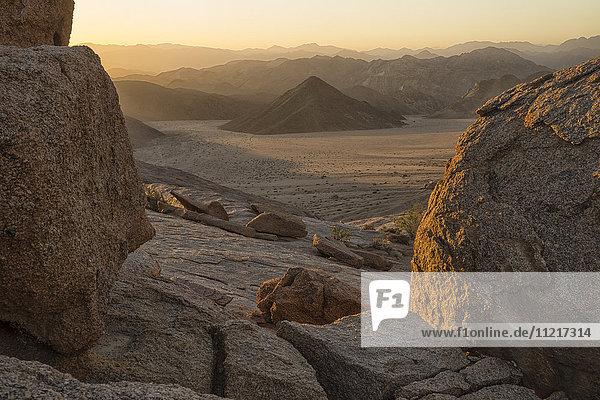 'Late daylight illuminates the landscape in Richtersveld National Park; South Africa'