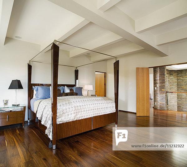 Minimalist Modern Master Bedroom