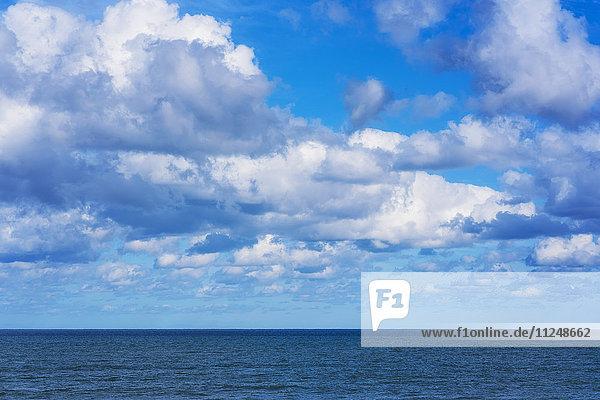 Clouds over sea Clouds over sea