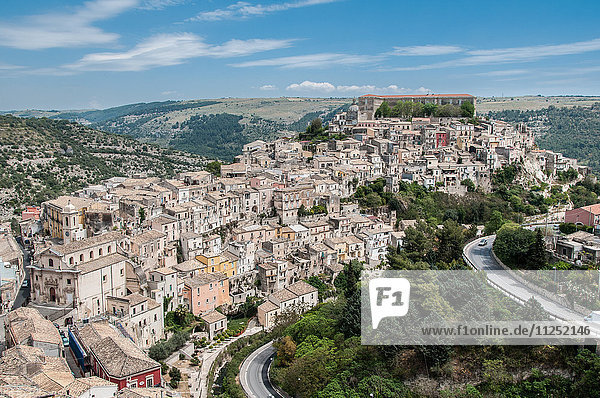 Europe Italy Sicily Ragusa district  Noto Valley  Ibla. Viewpoint