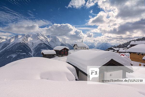 Bettmeralp  canton Valais  Switzerland.