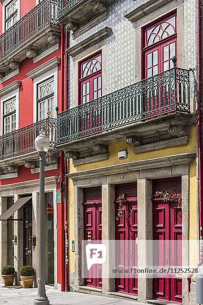 Scenic corner in Ribeira district  Porto  Portugal