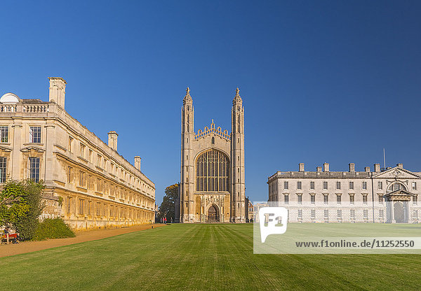 UK  England  Cambridgeshire  Cambridge  The Backs  King's College  King's College Chapel