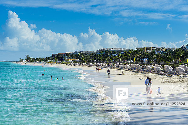Beach of Beaches resort  Providenciales  Turks and Caicos  Caribbean  Central America
