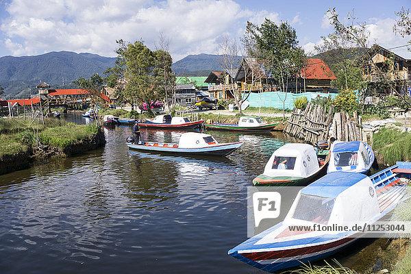 Laguna de Cocha  Colombia  South America